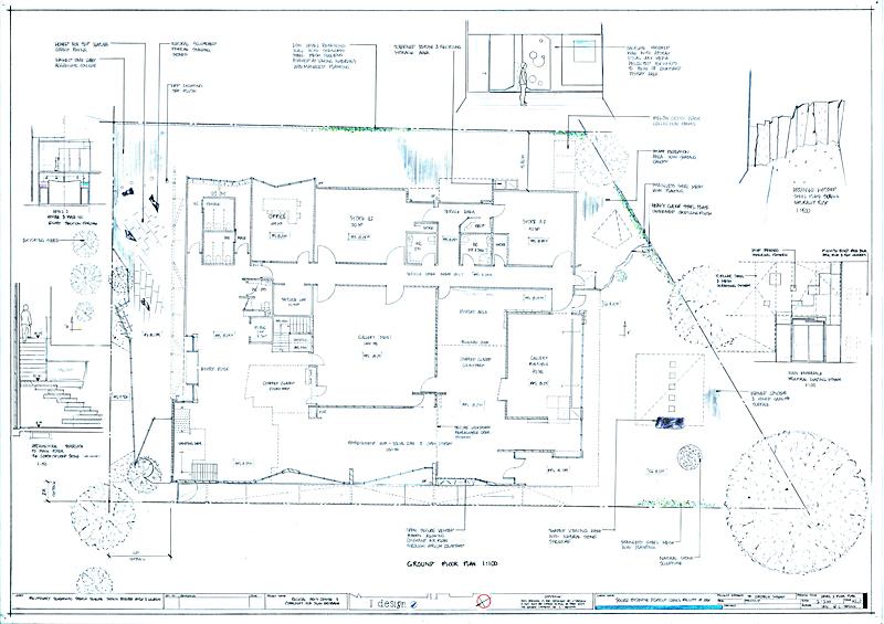 ground level floor plan art gallery-s
