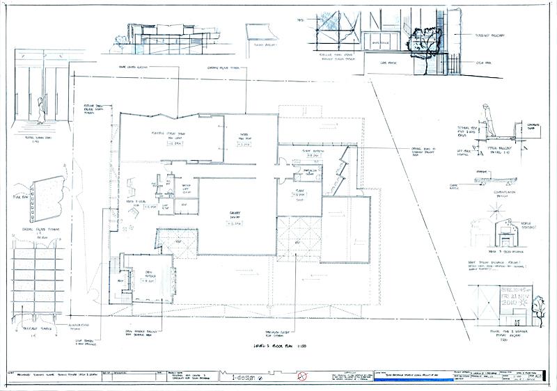 level 1 floor plan art gallery-s