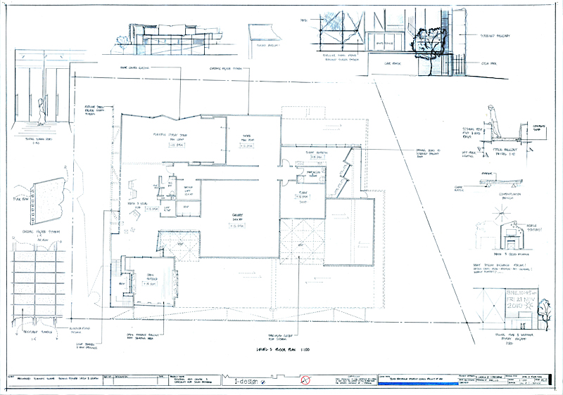 drafting sketch ian exley presents forma